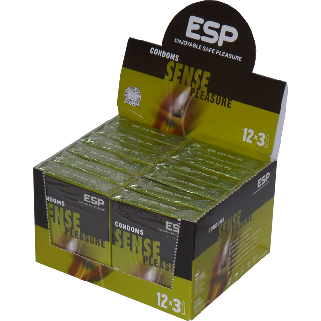 ESP Vorratsbox: Sense, 12x3 Kondome