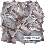 CautionWear «IronGrip» 50 enge Kondome