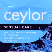 Ceylor «Sensual Care» 3ml Gleitgel Sachet