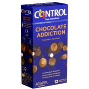 Control «Chocolate Addiction» - 12 Kondome mit Schokoladen-Aroma
