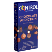 Control «Chocolate Addiction» - 6 Kondome mit Schokoladen-Aroma