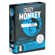 Crazy Monkey «Fun+Friction!» 3 Kondome