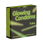 Glowing Condoms - 3 Leuchtkondome