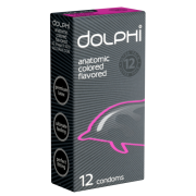 Dolphi «Anatomic Colored Flavored» 12 leckere Passformkondome