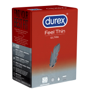 Durex «Gefühlsecht Ultra» (Feel Thin Ultra) Value Pack - 30 Kondome