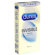 Durex «Invisible» Extra Sensitive - 6 Kondome