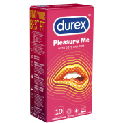 Durex «Pleasure Me» (with Dots and Ribs) - 10 Kondome
