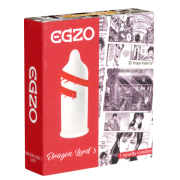 EGZO CF-7 (soft) «Dragon Lords» 1 Spezialkondom