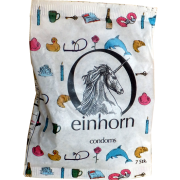 Einhorn Condoms: 7 Kondome in der Chipstüte, Motiv «Bilderrätsel»