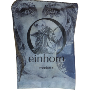 Einhorn Condoms: 7 Kondome in der Chipstüte, Motiv «Secret Crush»