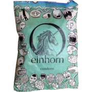 Einhorn Condoms: 7 Kondome in der Chipstüte, Motiv «Spermamonster»