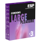 ESP Large Pleasures (3 größere Kondome)