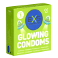 EXS Glow in the Dark Condoms - 3 Leuchtkondome