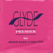 Glyde Ultra PREMIER Personal Lubricant 4ml