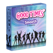 GoodTimes «Smooth» Natural & Seamless - 3 gefühlsechte Kondome