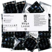 Kung «Mega Loose» Super Roomy Fit - 144 extrem große Kondome, Bulk-Pack