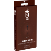 Kung «SuperThin» Fits Most and Feels More - 6 gefühlsechte Kondome