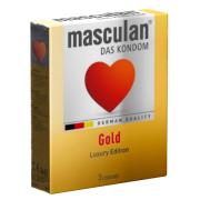 Masculan «Gold» 3 Kondome