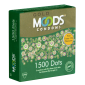 MOODS «GOLD» 1500 Dots Condoms - 3 Kondome mit 1500 Noppen