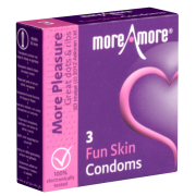 More Amore «Fun Skin» 3 Kondome