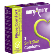 More Amore «Soft Skin» 3 Kondome
