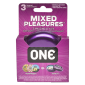 ONE «Mixed Pleasures» 3 Kondome inkl. Box