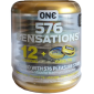 ONE «576 Sensations» 12 genoppte Kondome inkl. Box