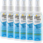 pjur® MED Clean Personal Cleaning Spray Lotion 6x100ml