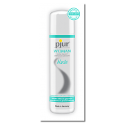 pjur® WOMAN NUDE Waterbased Personal Lubricant - No Glycerin, No Parabens & No Preservatives, 2ml Sachet