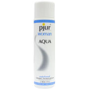 pjur® WOMAN AQUA Waterbased Personal Lubricant - Silky Smooth & Long Lasting, 100ml