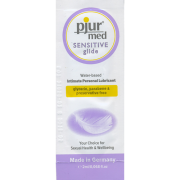 pjur® MED Sensitive Glide - No Glycerin, No Parabens & No Preservatives, 2ml Sachet