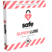 Safe «Super Lube» Condoms, 36 extra feuchte Kondome