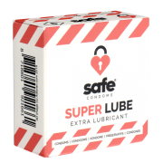 Safe «Super Lube» Condoms, 5 extra feuchte Kondome