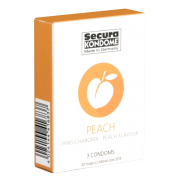 Secura «Peach» 3  leckere Kondome