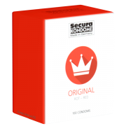 Secura «Original RED» 100 rote Kondome