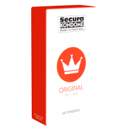 Secura «Original RED» 24 rote Kondome