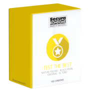 Secura «Test The Best» Sortiment - 100 Kondome