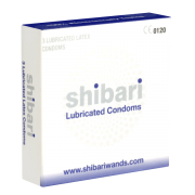 Shibari Lubricated Condoms, 3 Kondome