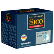 Sico «Fifty-Four» X-Tra - 50 starke, größere Kondome (54mm n.B.)