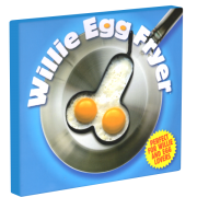 Willie Egg Fryer - Penis-Backform für Spiegel-Eier