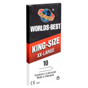 Worlds Best «King Size XX-Large» 10 Kondome