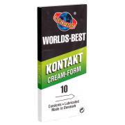 Worlds Best «Kontakt Cream Form» 10 Kondome