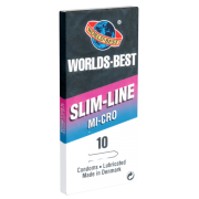 Worlds Best «Slim Line Mi-Cro» 10 Kondome