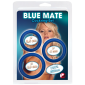 Blue Mate Cockring Set - blaue Penisringe in 3 Größen