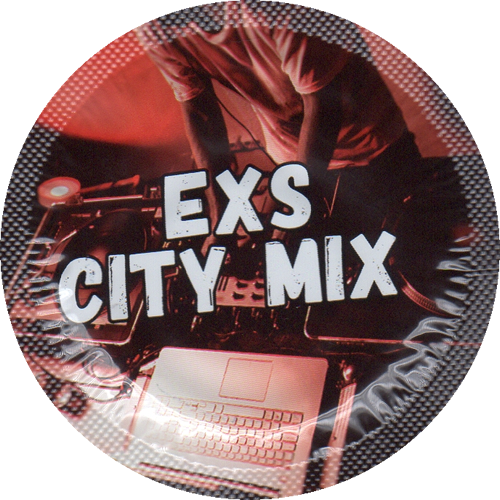 EXS Vorratsbeutel «City Mix Regular» 100 Kondome